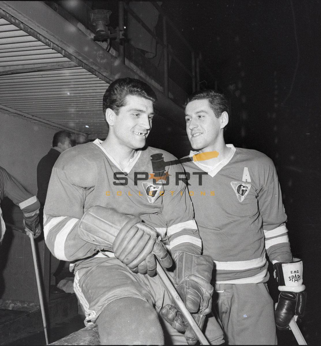 Hockey brothers Bohumil a Josef Kozela
