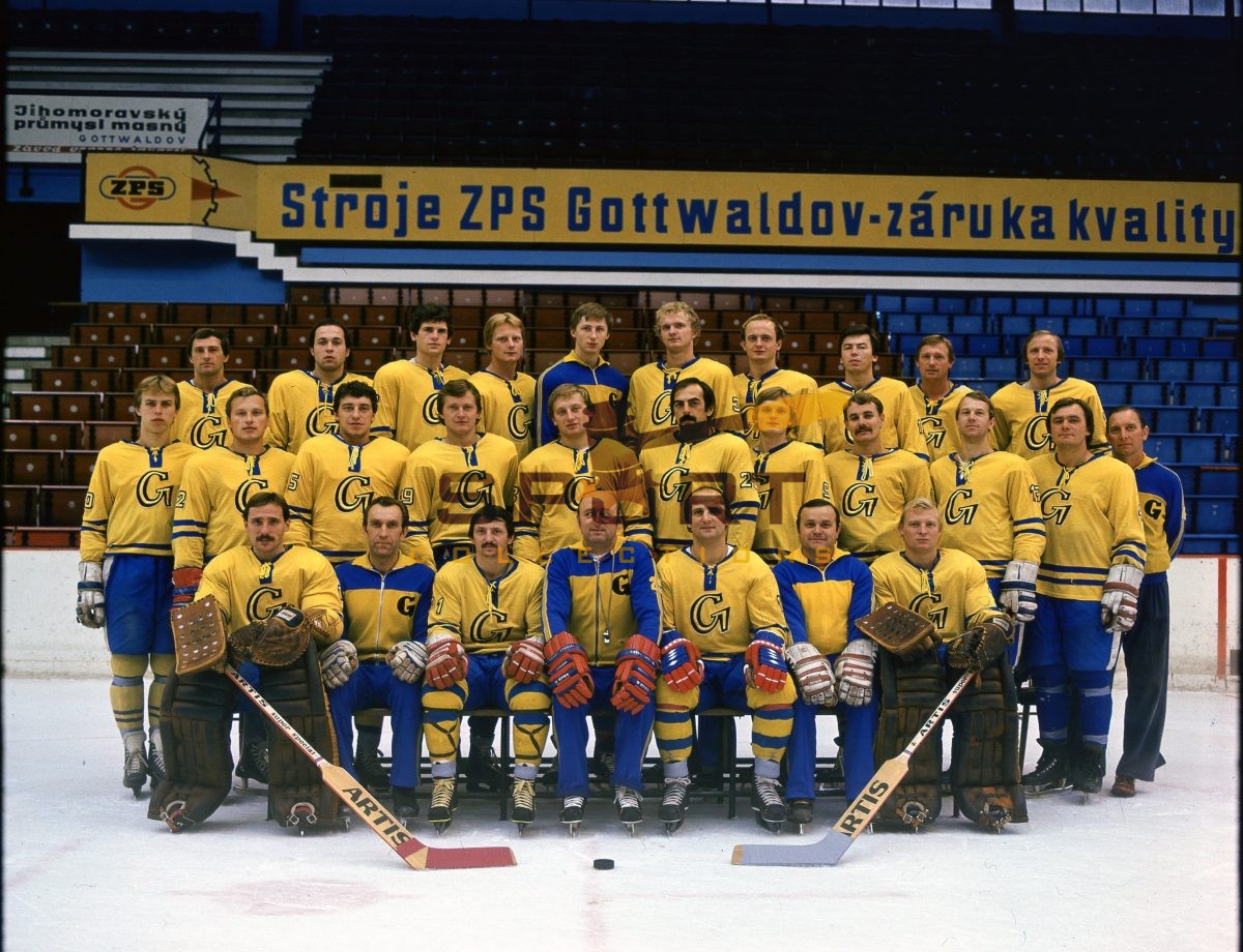 Hockey team TJ Gottwaldov (Zlin)