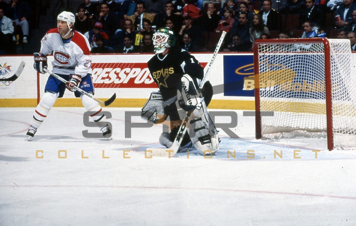 Hockey goaltender Roman Turek
